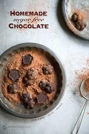 healthy homemade keto chocolate