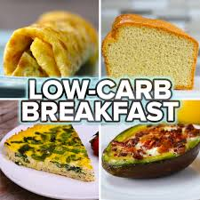 5 low carb breakfasts recipes