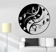 Large Om Symbol Wall Decal Stickers Buddha Absolute Hindu Om Word 1 1 Meters