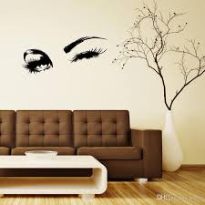 Wall Decal Beautiful Charming Eyes Lashes Wink Decor Wall Art Mural Vinyl Decal Stickers Interior Design Bedroom Sticker Removable Wall Decals For Kids Removable Wall Decals For Living Room From Lotlot 1 37