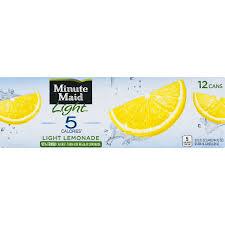 minute maid light lemonade 12 fl oz