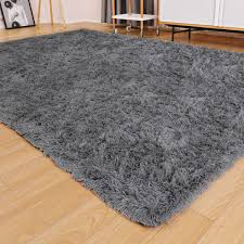 Ophanie Ultra Soft Fluffy Area Rugs For Living Room Luxury Shag Rug Faux Fur Non Slip Floor Carpet For Bedroom Kids Room Baby Room Girls Room And Nursery Modern Home Decor 4x5 3