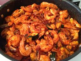 Spicy Korean Shrimp (With images ...