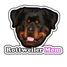 Rottweiler Mom Dog Animal Car Vinyl Decal Sticker Digital Printed Mod092 For Sale Online