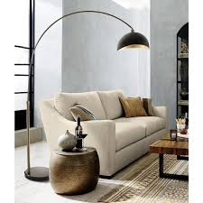 weathered brass arc lamp