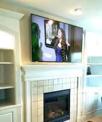 hanging above fireplace mounting mount