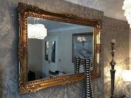framed mirror french antique ornate