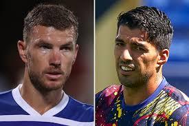 Edin Dzeko agrees terms with Juventus ahead of £15m transfer leaving Luis  Suarez in limbo
