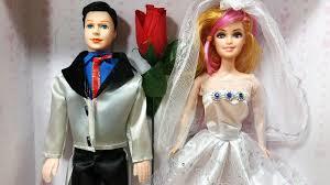 Đồ chơi trẻ em Búp bê cô dâu chú rể xinh đẹp - Baby doll bride ...