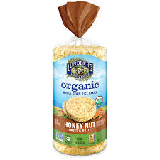 organic honey nut rice cake lundberg