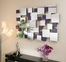 how to use wall mirrors in a modern