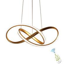 houdes gold modern acrylic pendant