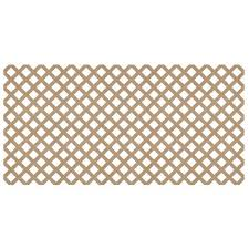 4 X 8 Standard Plastic Lattice Panel At Menards