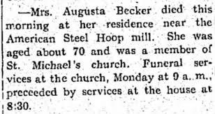 Augusta Neiman Becker - Newspapers.com