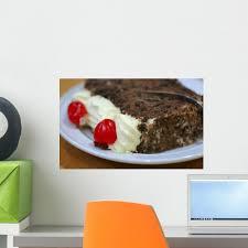 Black Forest Cake Wall Decal Wallmonkeys Com