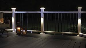 Deck Lights To Beautify The Deck Designalls In 2020 Deck Post Lights Solar Deck Lights Deck Lighting