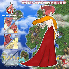 Now let's meet the Second Gym Leader. Here's AGNES the Fire Gym ...