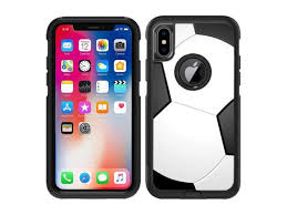 Protective Designer Vinyl Skin Decals Stickers For Otterbox Commuter Iphone Xs Iphone X Case Soccer Design Patterns Only Skins And Not Case By Teleskins Newegg Com