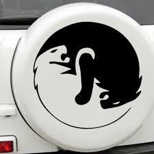 Car Styling Lion Car Decal For Truck Window Bumper Auto Suv Door Laptop Kayak Vinyl Decal Car Stickers Aliexpress