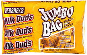 milk duds candy 26 oz nutrition