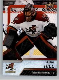 Amazon.com: 2018-19 Upper Deck AHL Hockey #49 Adin Hill Tucson Roadrunners  Official UD American Hockey League Trading Card: Collectibles & Fine Art