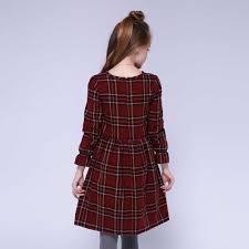 Kseniya Trẻ Em Bé Gái Áo Cotton Lolita Dài Tay Phong Cách Cô Bé Mùa Đông  Len Kẻ Sọc Thời Trang Nữ Dễ Thương Đầm Công Chúa|