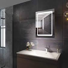 bathroom mirror cabinet led mirrors