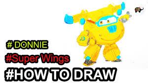Vẽ các nhân vật trong đội bay siêu đẳng | Nhân vật DONNIE bạn của ...
