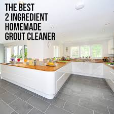 2 ing homemade grout cleaner
