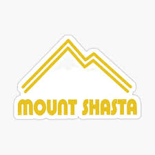 Mount Shasta Stickers Redbubble