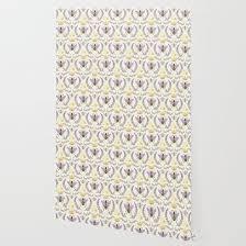 queen bee lavander purple and yellow