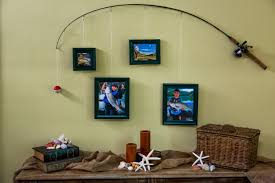 how to diy fishing pole frames home