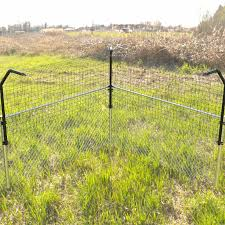 Dog Proofer Houdini Proof Fence Extension System Kit With Welded Wire Fence Material Dog Pet Barrier Wayfair