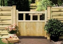 Grange Solid Infill Cottage Style Wooden Garden Gates
