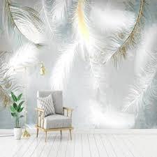 قیمت کاغذ دیواری سه بعدی طرح پر و خرید کاغذ دیواری سه بعدی طرح پر ...