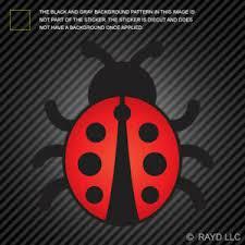 Lady Bug Sticker Die Cut Vinyl Coccinellidae Cute Ladybug Ladybird Insect Ebay
