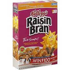 kellogg s raisin bran cereal fairview