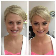 after hair and makeup blonde 2