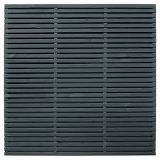 Forest Garden Double Slatted Grey Fence Panel 6 X 6 Ft Multi Packs Wickes Co Uk