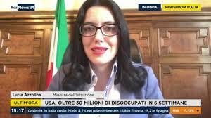 Lucia Azzolina ospite a RaiNews24 30/04/2020 - YouTube