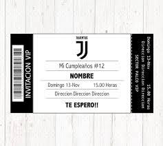 Juventus Invitation Printable Digital Birthday Party Invitation Invitacion Cumpleanos Juventus Digital Imprimible Invito Di Compleanno Invitaciones De Cumpleanos Invitaciones Cumple Invitaciones