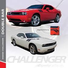 Dodge Challenger Hash Marks Decals Double Bar 2008 2019 2020 2021