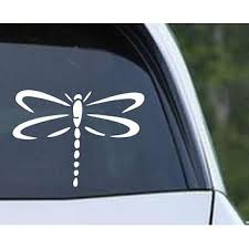 Shop Dragonfly Decal On Wanelo
