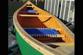 homemade canoe stolen from shed in