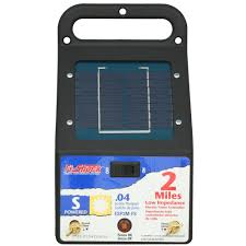 Fi Shock 2 Mile Solar Powered Electric Fence Energizer Farm Poultry Fencing New Isp Paris