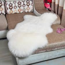 genuine pelt real fur blanket