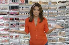 eva longoria s first makeup purchase