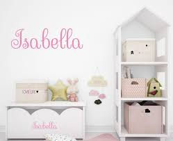 Wall Decals Personalized Names Keith Fish Decal Girl Nursery Bedroom Da3739 For Sale Online Ebay