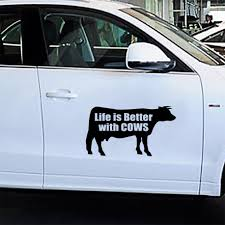 Cute Cow Car Stickers Sticker Styling Car Stickers Window Bumper Truck Decal Vinyl Waterproof Graphics Decoration Car Stickers Aliexpress