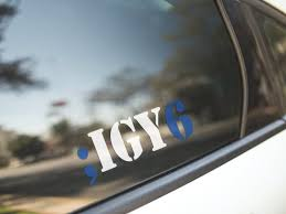 Igy6 Vinyl Decal I Got Your Six Blue Lives Matters Thin Etsy